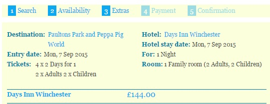 Peppa Pig World Mini Break With Two Days Park Entry Just 36 Each