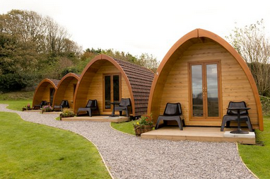 Sites with cabins available in the next seven days