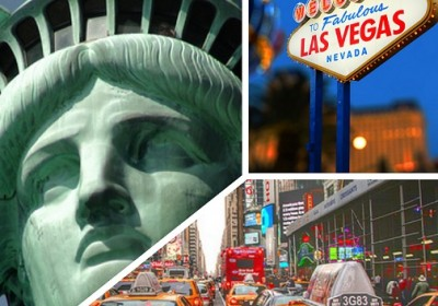New York Vegas In One Trip Flights From The Uk Internal Hotels Just 999 Each