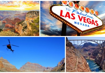 Vegas Amp Grand Canyon Tour With Flights Amp Optional Helicopter Tour Jus