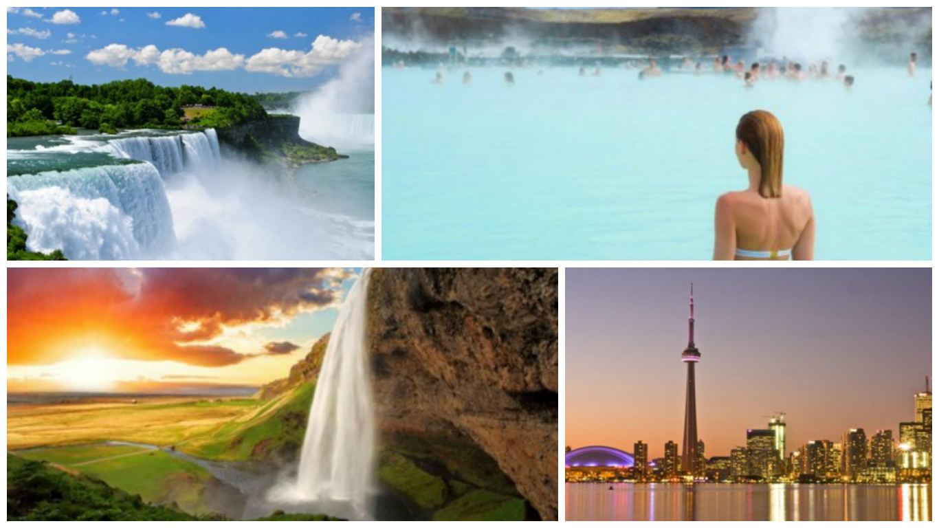 Iceland & Canada in one Trip just £799 each ...