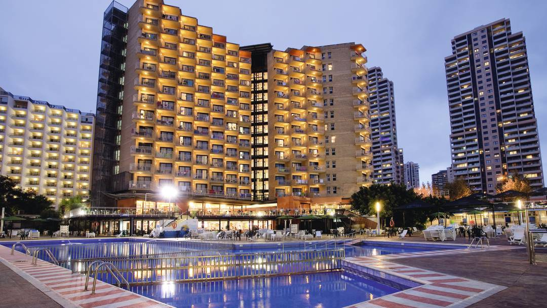 Cheap Holidays To Rio Park Hotel Benidorm