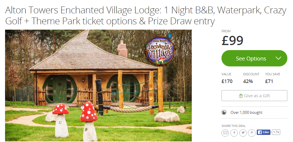 Book Alton Towers Hotel With Merlin Pab