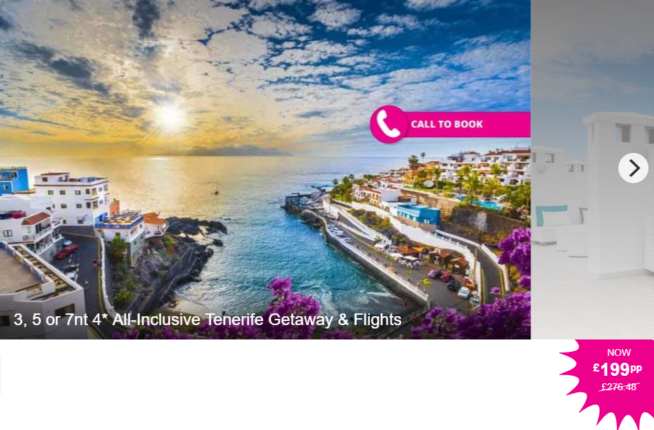 Flights To Canary Islands From Manchester