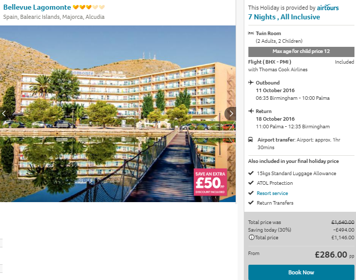 Cheap Flights And Hotels To Spain All Inclusive