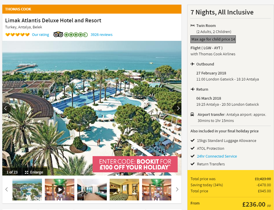 Hotel Belek Beach Resort Bilder