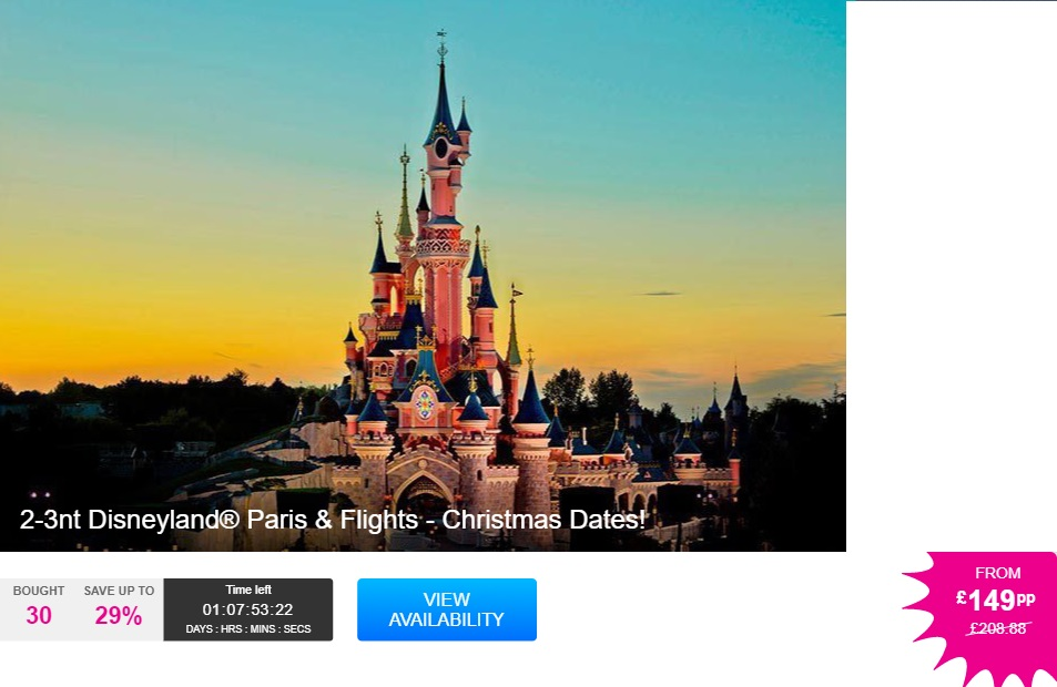 Cheap Disneyland Paris Hotels And Park Tickets