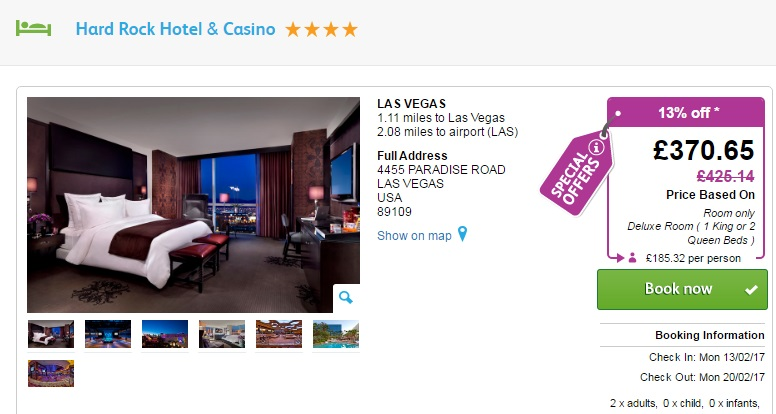 Las Vegas Transfers From Airport To Hotel
