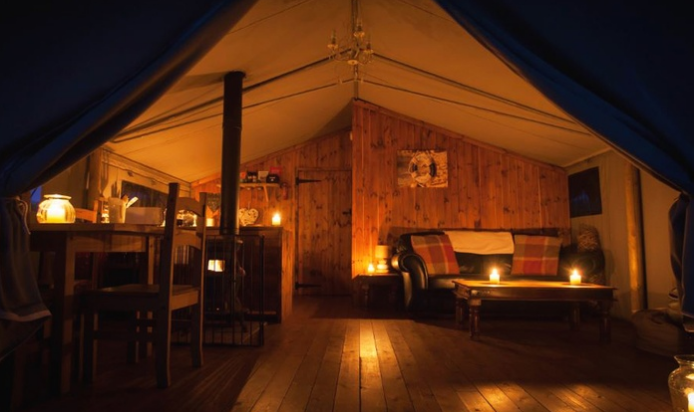 4 Night Luxury Glamping Break With Bubbly 163 33 Each