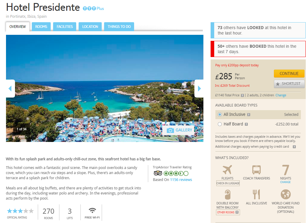 October 2019 Package Holiday To Menorca 163 155 Each
