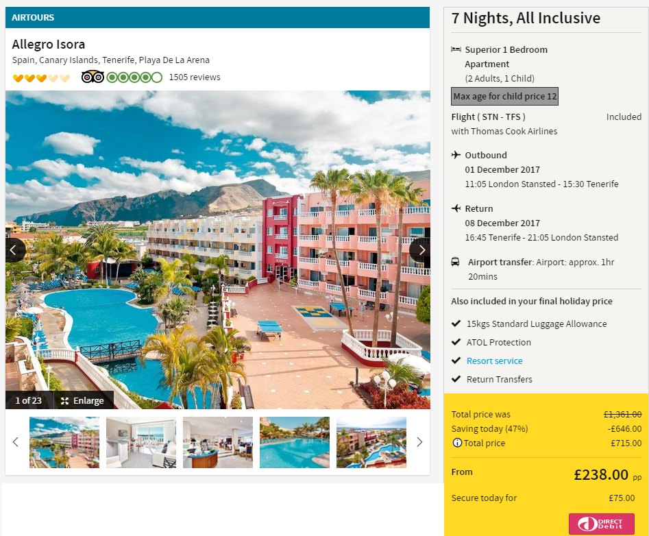 Star All Inclusive Hotels Tenerife South