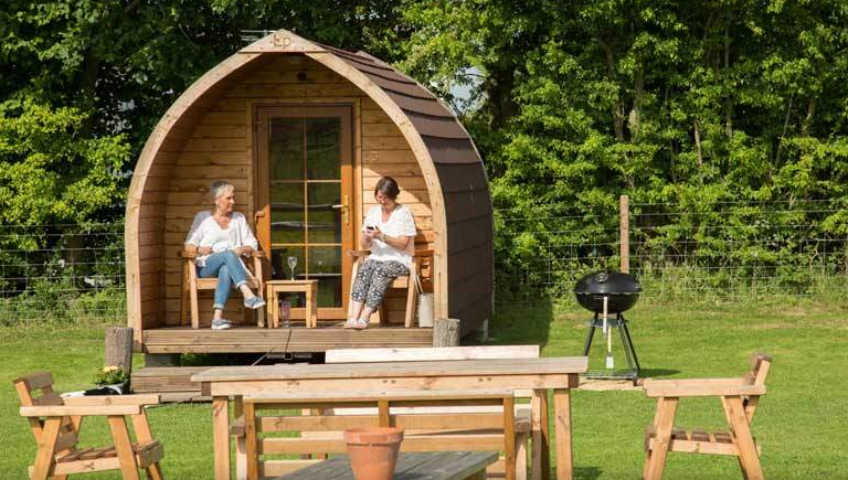 cheap glamping breaks for 2 7 nights from 69 per pod