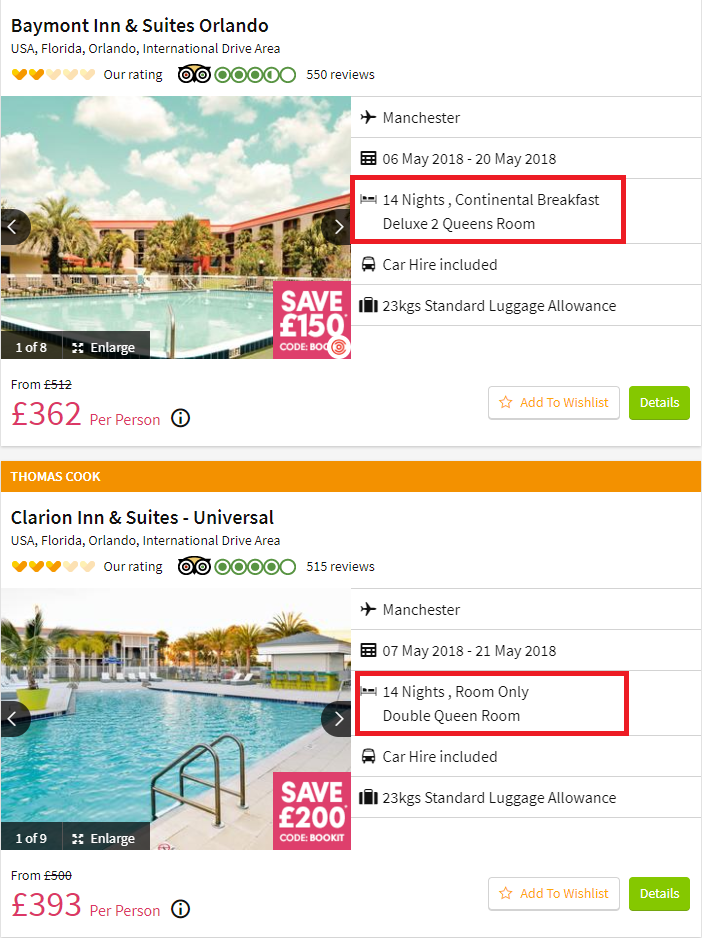 Cheap Package Holidays To Florida From Just 163 331 Each