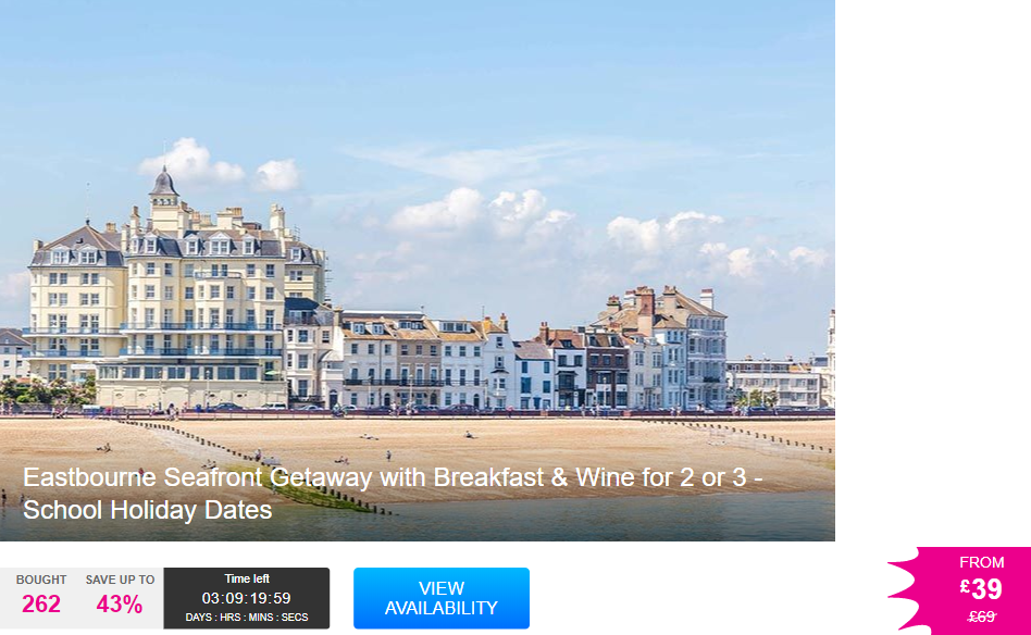 Eastbourne  Hotel Bed And Breakfasts