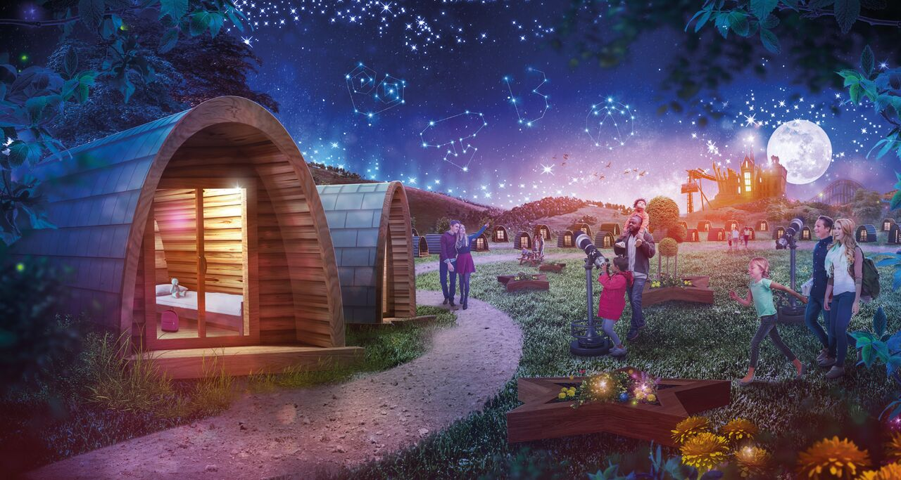 new star gazing pods at alton towers � sunshinestacey